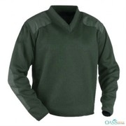 lapel neck green mid layer manufacturer