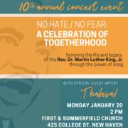 No Hate/No Fear: A Celebration of Togetherhood
