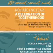 No Hate/No Fear: A Celebration of Togetherhood