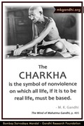 Thought For The Day ( CHARKHA )