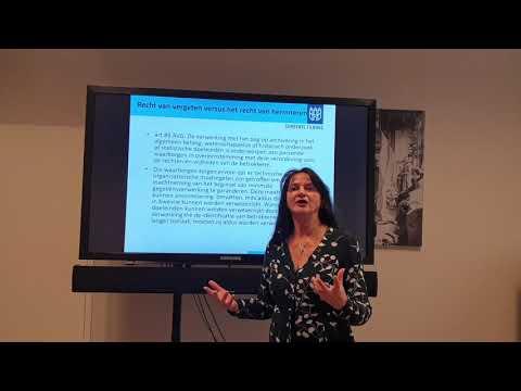 KIA ThemaTiendaagse Online Weblecture AVG, Archiefwet en vernietiging Aflevering #1