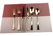 Luxury Rose Gold Flatware