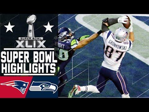 Super Bowl XLIX: Patriots vs. Seahawks highlights