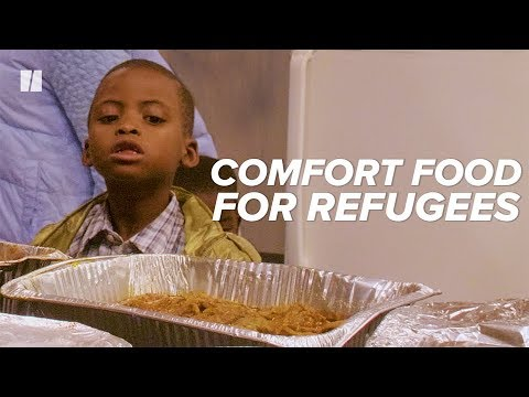 Welcoming Refugees, One Home-Cooked Meal At A Time | HuffPost Reports