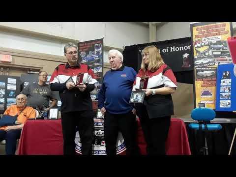 Darwin Doll Welcoming Randy and Yvonne Davis To the Legion Of Honor NNDRA