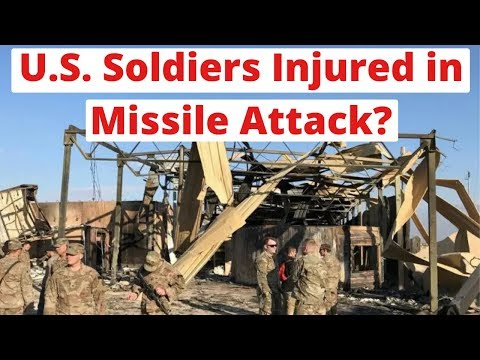 Report: US Soldiers Were Injured in Missile Attack - LIVE NEWS COVERAGE