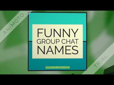 Group Name Ideas