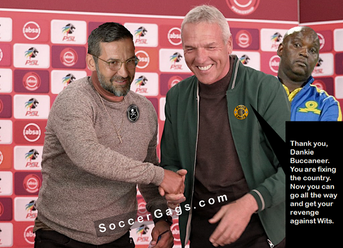 Thank you Orlando Pirates for fixing the country
