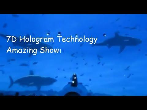 7D Hologram Technology Amazing Show!