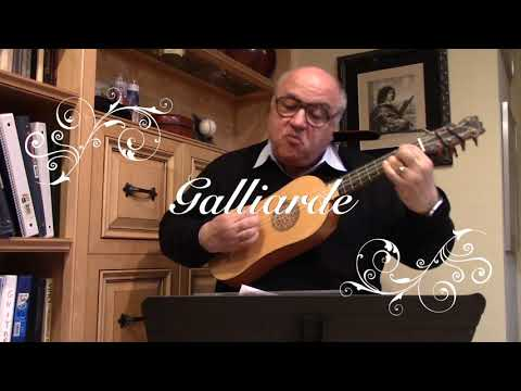 Pavanne and Galliarde by Guillaume Morlaye for Renaissance Guitar