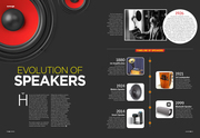 Evolution  of speakers