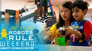 Robots Rule Weekend