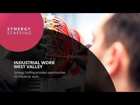 Synergy Staffing: Industrial Work in West Valley