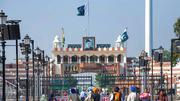 India-Pakistan Border Crossing at Wagah, Punjab