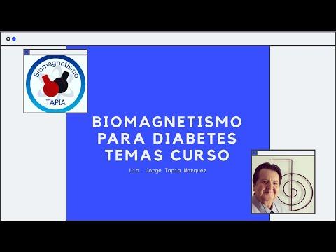 Temas del curso de Dibetes y Biomagnetismo