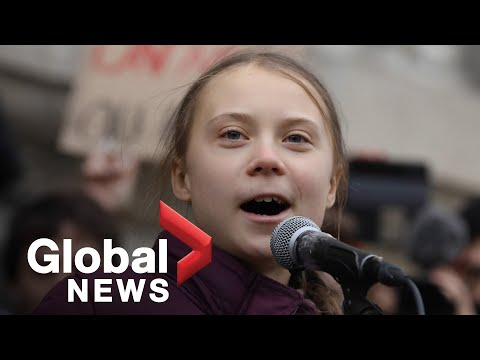"Greta Thunberg tells world leaders ""You haven't seen the last of us"" I think this job is going to h…"