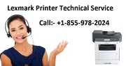 Lexmark Printer Technical Service +1-855-978-2024