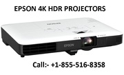 Epson 4K HDR Projectors +1-855-516-8358