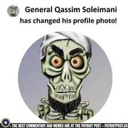 Soleimani has changed his Avatar