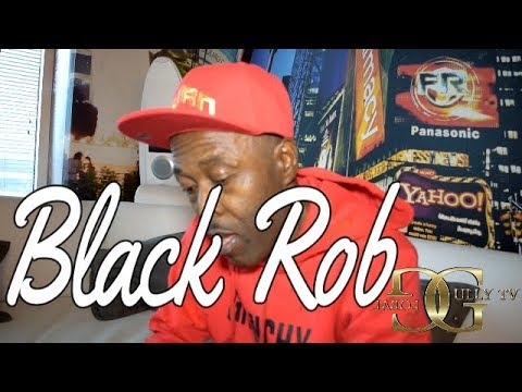 BLACK ROB TALKS DIDDY, SHYNE, HAVING 6 ALBUMS &TAKING G-DEP TO BADBOY
