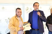 Mohamed Dekkak Chairman of Anouar Association awarding the Certificates to the volunteers for their Excellent Performance, hardworking and collaboration in numerous Projects….. on the Opening ceremony