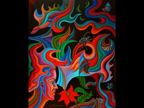 Synthesis Paintings and Drawings 2018-2019. Nina Tokhtaman Valetova.