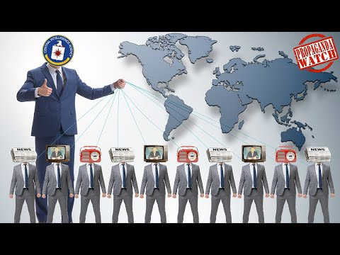 The CIA's Global Propaganda Network - #PropagandaWatch