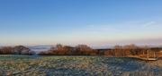 Frosty sunny Pen morning