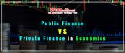 Public Finance vs Private Finance in Economics