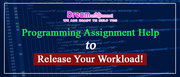 Programming Assignment Help to Release Your Workload!