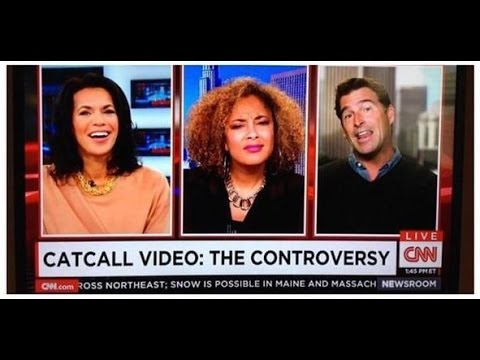 Amanda Seales schools a dude on CNN abt Catcalling