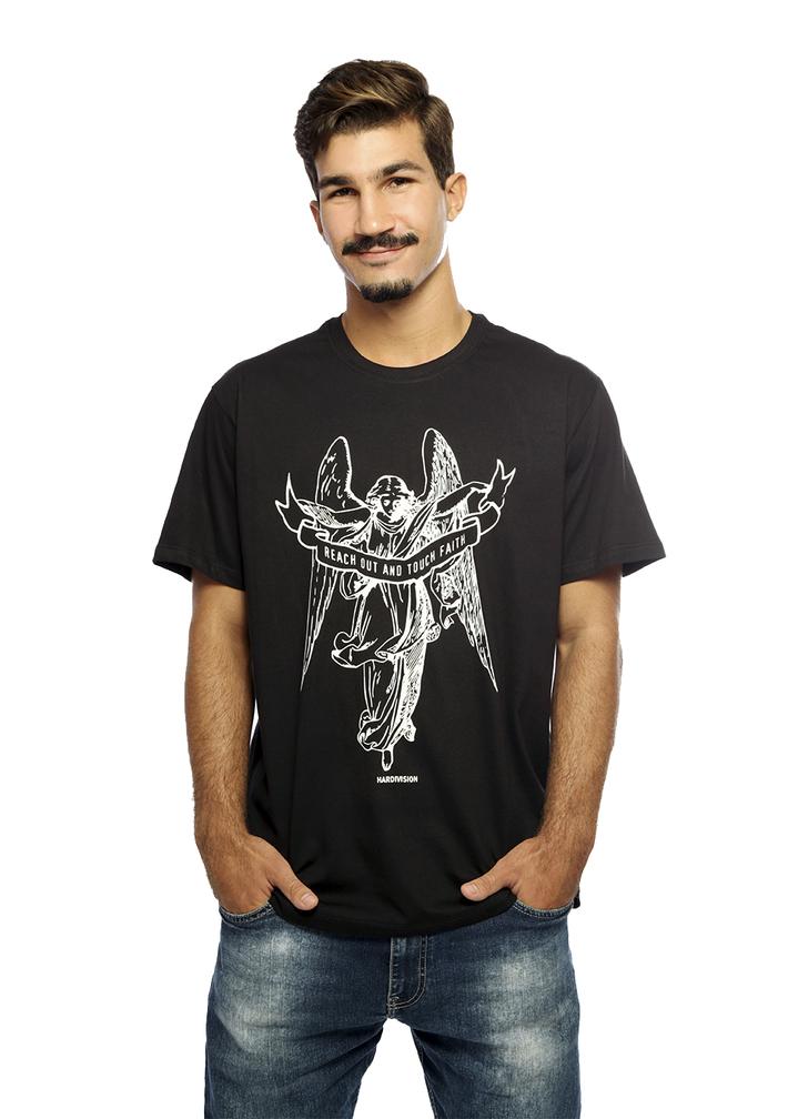 camiseta anjo hardivison