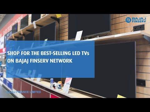 Buy LED TVs On EMI | Bajaj Finserv