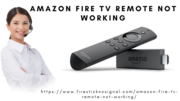 Amazon fire tv remote not working