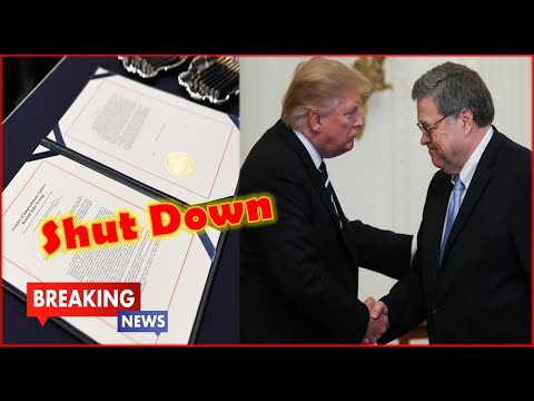 BREAKING !! AG Bill Barr Just Shut-Down Impeachment With One Secret Letter