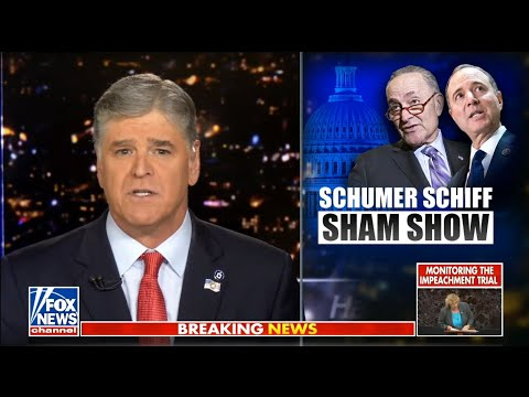 Sean Hannity 1/23/20 | Breaking Fox News January 23, 2020