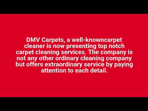 Carpet Cleaning Company Woodbridge VA