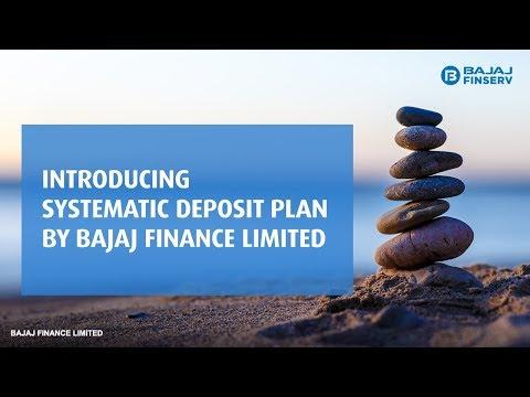 Systematic Deposit Plan by Bajaj Finance