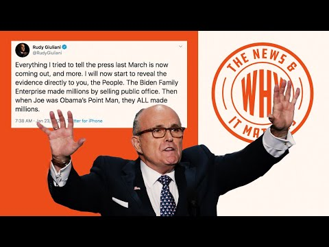 Giuliani Says It's Time To Reveal His SECRETS on Biden Family | The News & Why It Matters | Ep 455