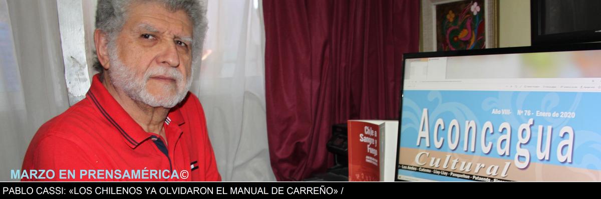 AVANCE ESPECIAL: PABLO CASSI A SOLAS CON PRENSAMÉRICA