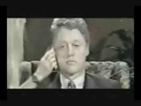 Bill Clinton under Mind Control.