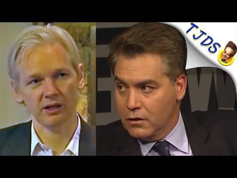 "Jim Acosta Destroyed Over Julian Assange At ""Newseum"""