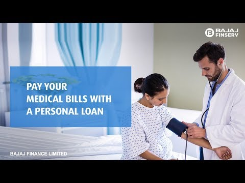 Personal loan For Medical Bills | Bajaj Finserv