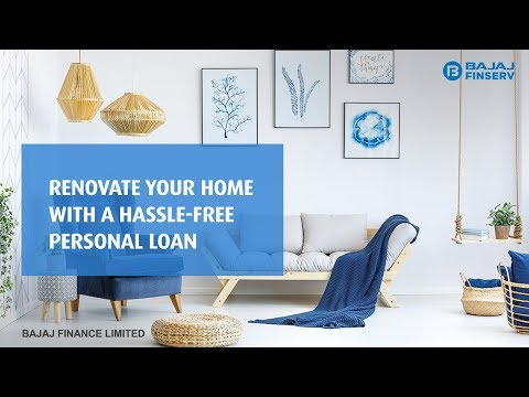 Home Renovation Personal loan By Bajaj Finserv