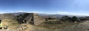 El Paisaje en Monte Alban.