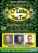 Senior Comedy Afternoons Presents O Lucky You!