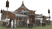 """""""MONGOL"""" pavilion"""