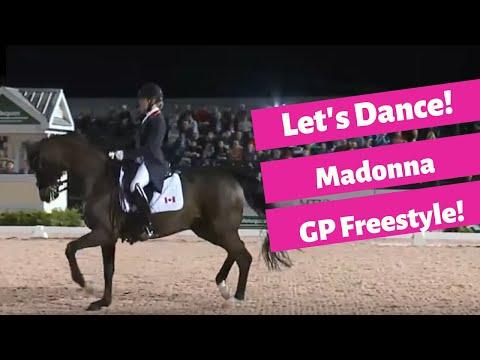 Madonna Grand Prix Freestyle With Lindsay Kellock And Sebastion