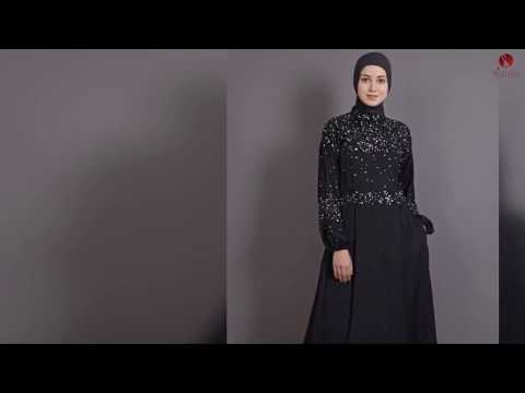 Beautiful Arabic Dubai Abaya Designs Collections for EID Festival