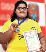 Weightlifter teenager girl reduced weight by Bariatric Surgery